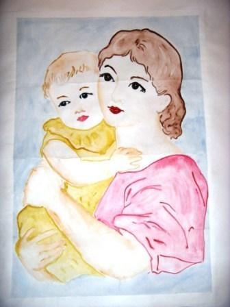 На день матери рисунки своими руками