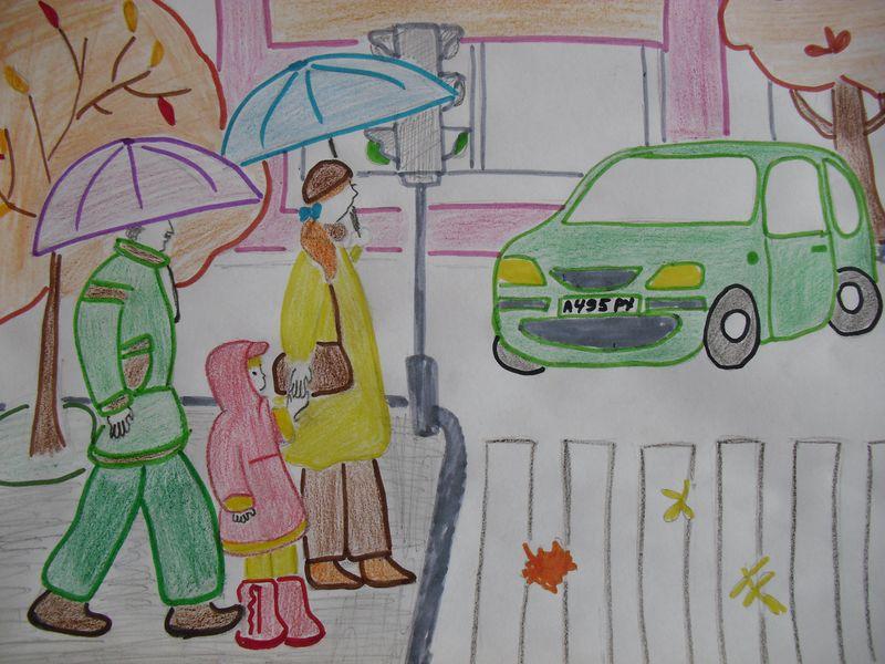 Рисунки на тему: Правила дорожного движения своими руками ... Пасха Рисунки Карандашом